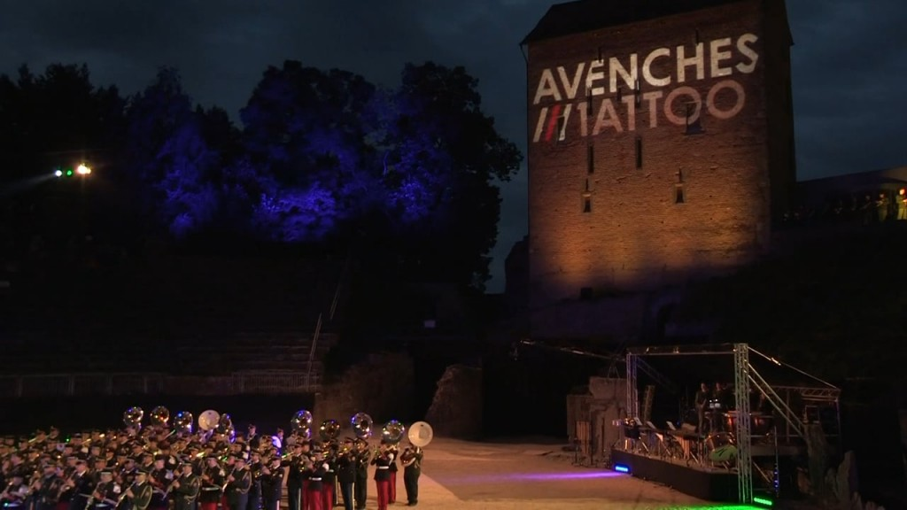 Avenches Tattoo 2015